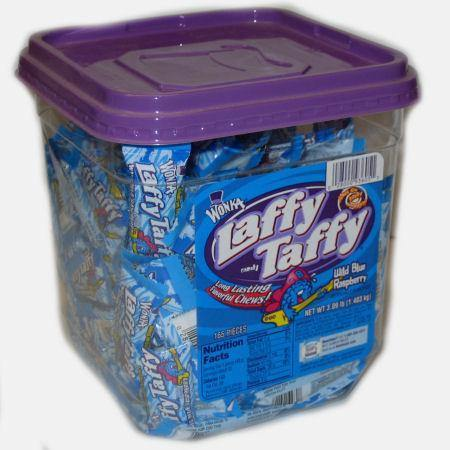 blue raspberry laffy taffy 145ct jar