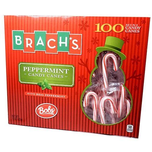 Brach's Peppermint Candy Canes 100ct box