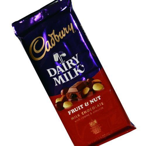 cadbury fruit nut theater candy