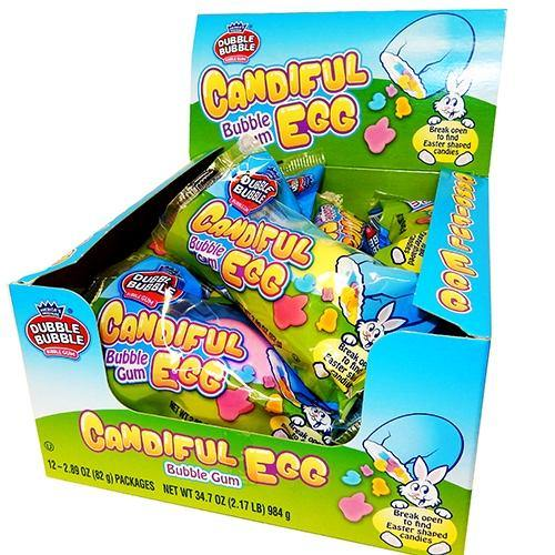 Dubble Bubble Candifuls Giant Eggs