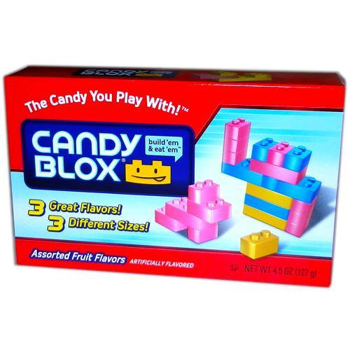 candy blocks like legos theater candy
