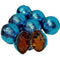Carribean Blue Caramel Filled Chocolate Balls
