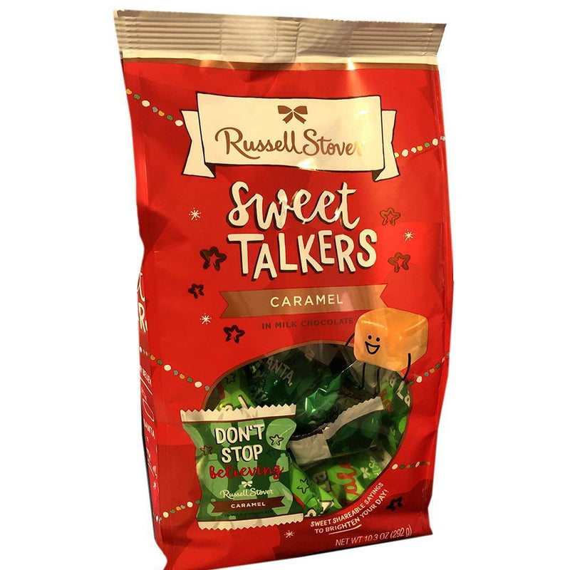 Caramel Sweet Talkers candy from Russell Stover