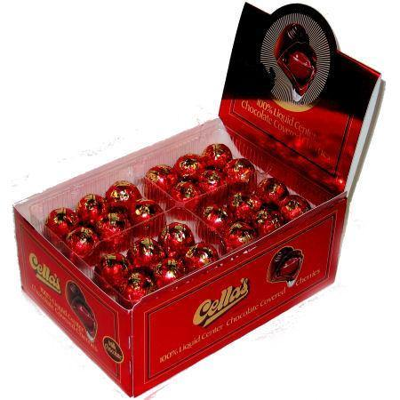 cella milk chocolate covered cherries 72ct box