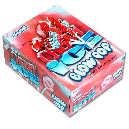 Cherry Ice Flavored Blow Pops