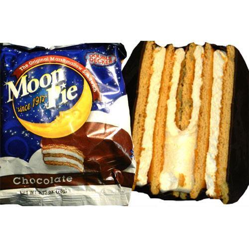 Chocolate Moon Pie Double Decker