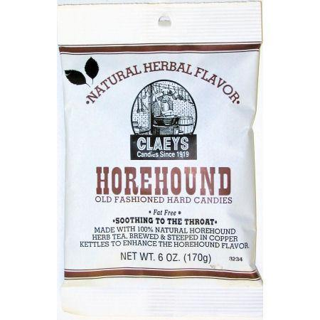 claeys brand horehound flavored oldtime hard candy