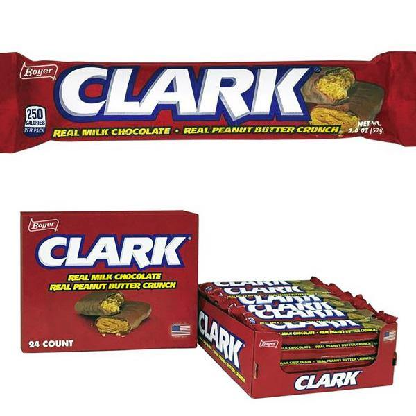Clark Bars retro candy