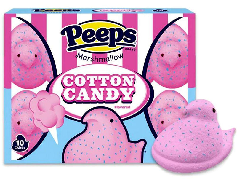 PEEPS Cotton Candy Flavored Chicks