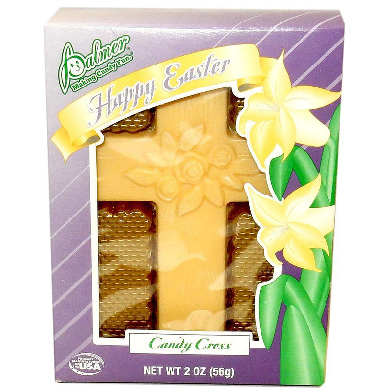 White Chocolate Cross Easter Candy