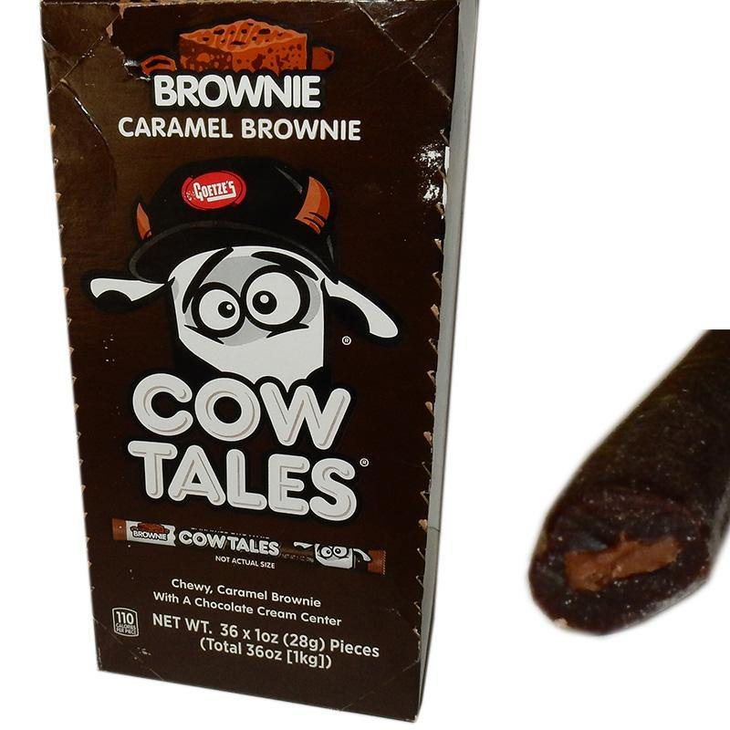 chocolate brownie cow tails