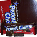 dark chocolate peanut chews