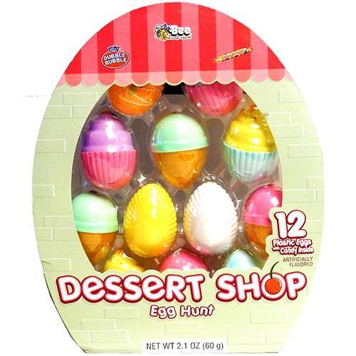Dessert Shop Easter Eggs