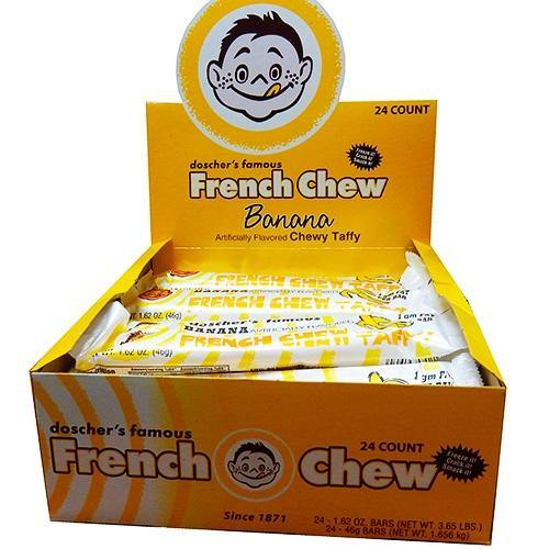 Doscher's French Chew Banana Taffy