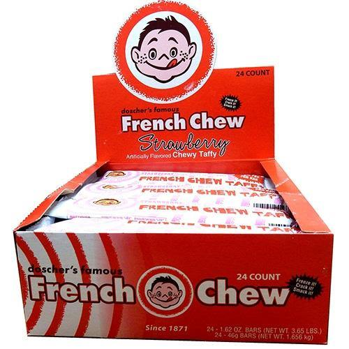 Doscher's French Chew Strawberry Taffy