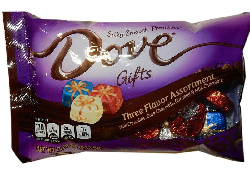 Dove Holiday gifts candy Assortment
