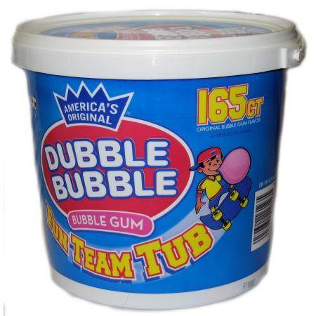 dubble bubble original small tub