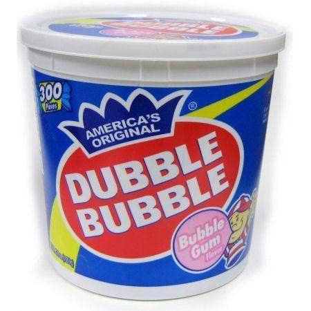 dubble bubble original tub
