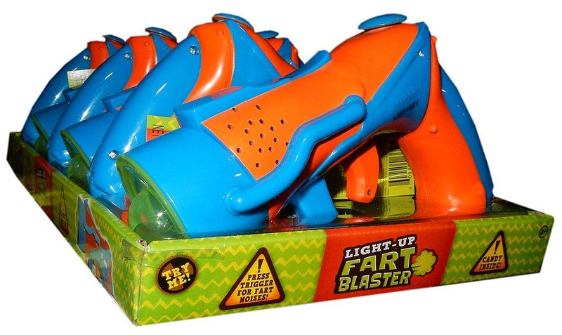 Light-Up Fart Blaster Toy with Candy