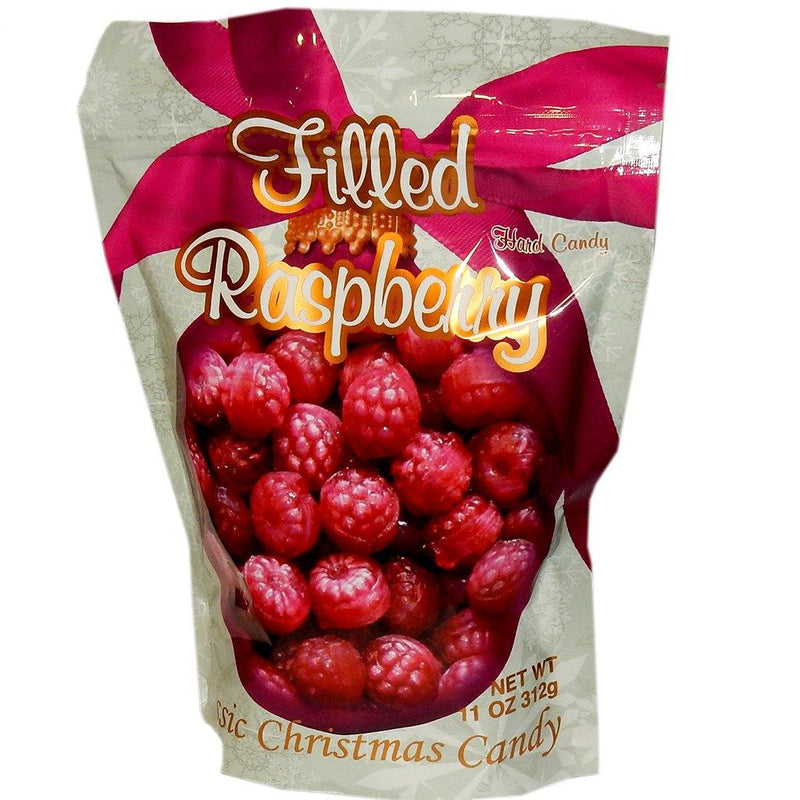 Old Fashion Christmas filled Raspberry hard candy