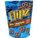 flipz milk chocolate pretzels 5oz bag