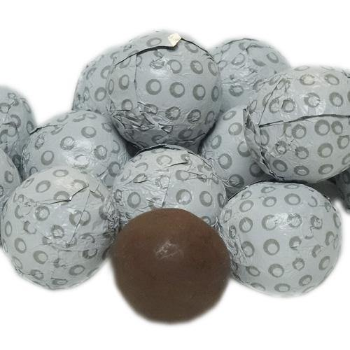 foil wrapped chocolate golfballs