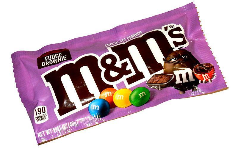 Fudge Brownie M&M's pack