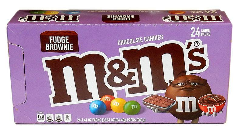 Fudge Brownie M&M's