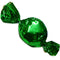 green foil covered hard candy