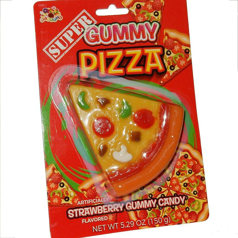Albert's Super Candy Gummy Pizza