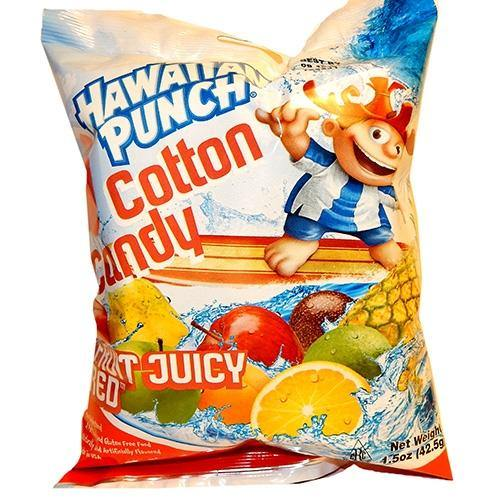 Hawaiian Punch Cotton Candy