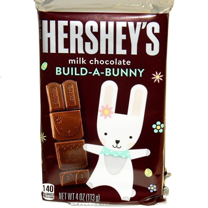 Hershey's Build-A-Bunny Milk Chocolate Candy Bar 4 oz
