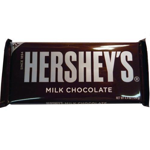 hersheys milk chocolate candy bar