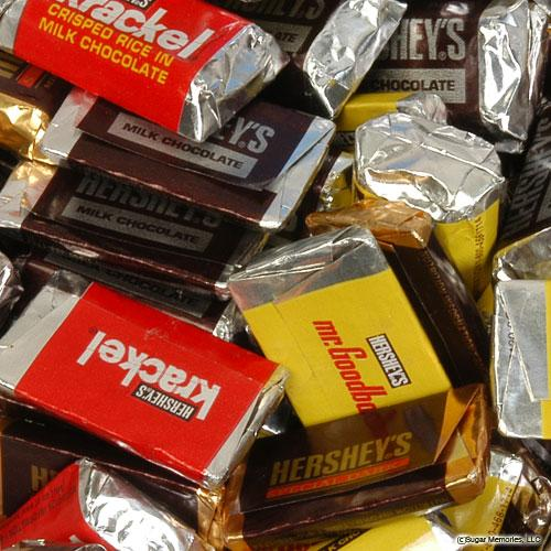 hersheys miniatures candy bars