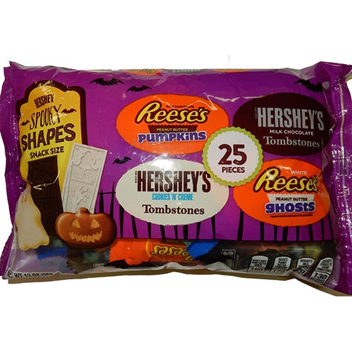 Hershey Halloween Candy Snack Size Bag -