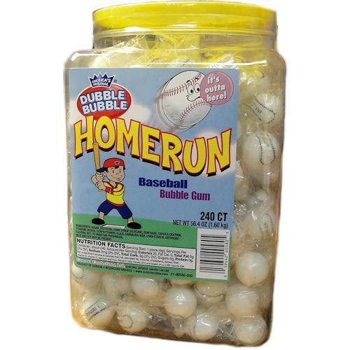 home run baseball gum