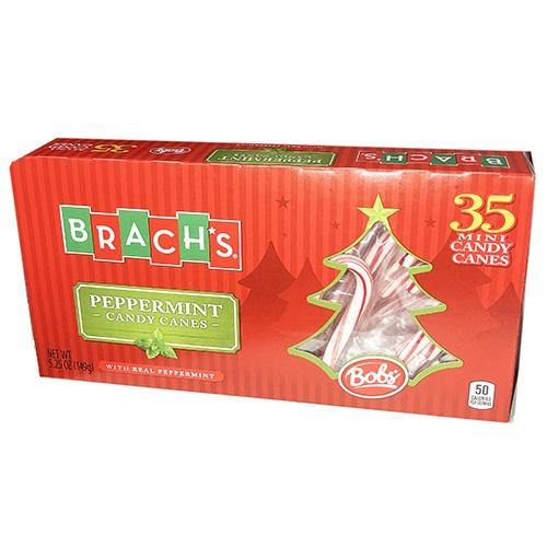 Brach's Peppermint Candy Canes 35ct box