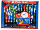 Jolly Rancher Candy Canes - 12 count