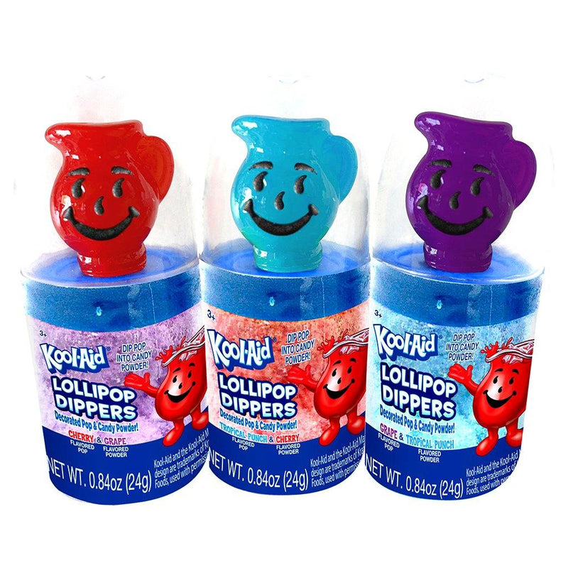 Kool-Aid Lollipop Dippers  12ct box