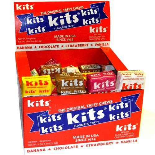 kits taffy assorted 100ct box