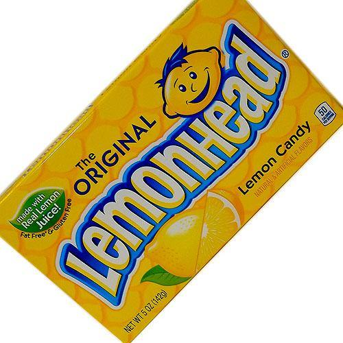 Lemonheads Theater Candy 5 oz. Box