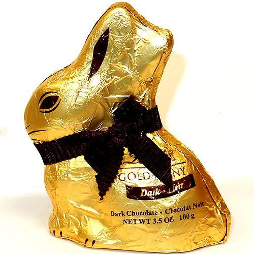 Lindt Dark Chocolate Gold Bunny