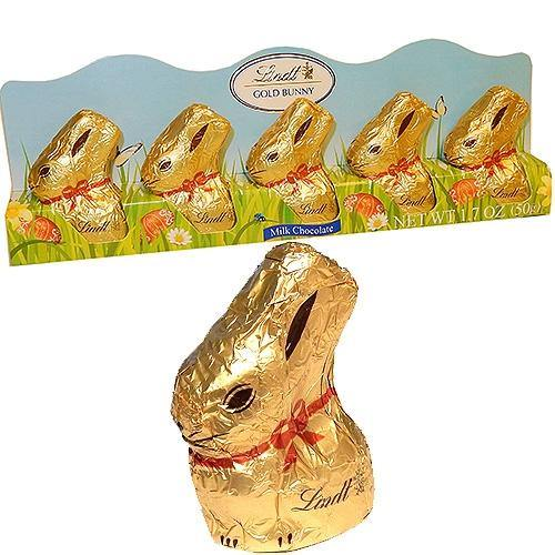 Lindt Mini chocolate easter Bunnies 5 Pack