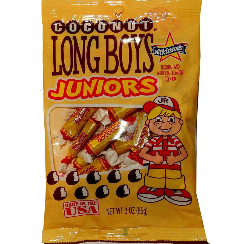 Long Boys Coconut Juniors - 3 oz Bag