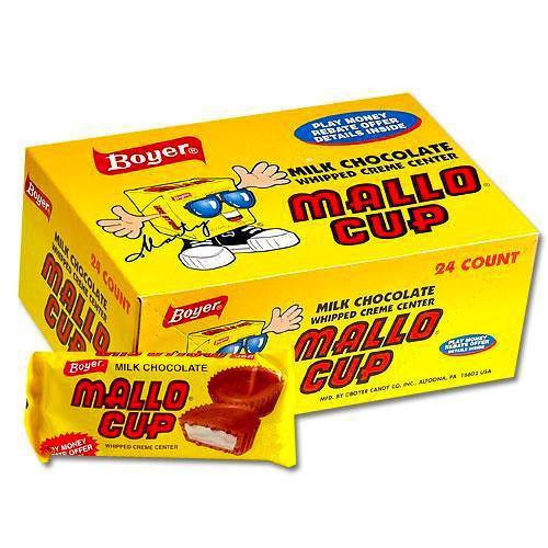 Mallo Cup classic candy