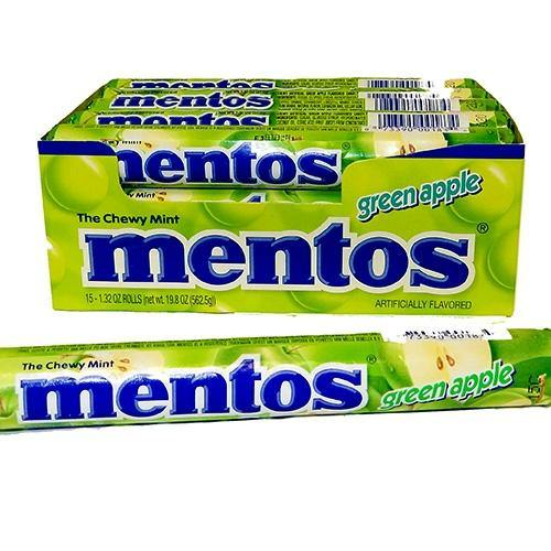 Mentos Green Apple Chewy Mints
