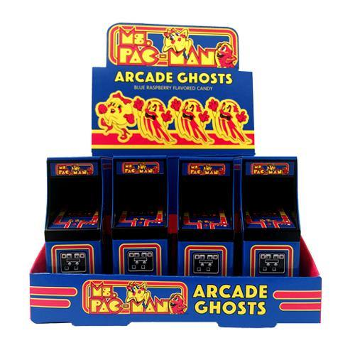 Ms. Pacman Arcade Ghosts Candy TIns