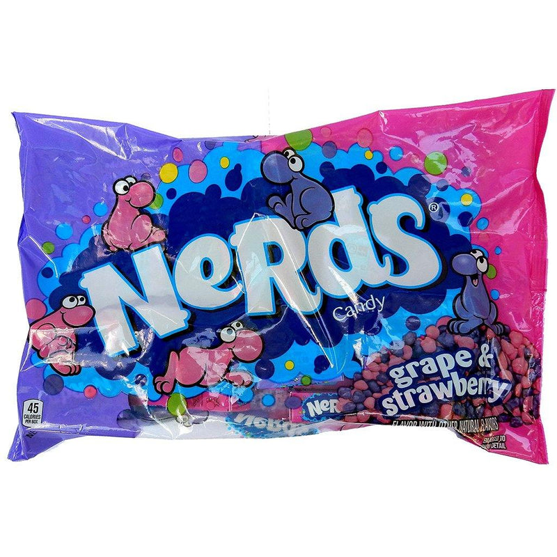 Nerds Fun Size - Grape and Strawberry 28ct bag