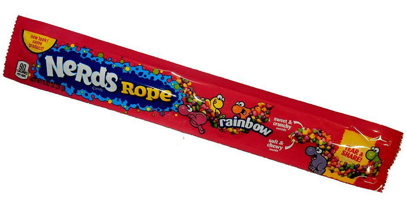 Rainbow Nerds Candy Rope