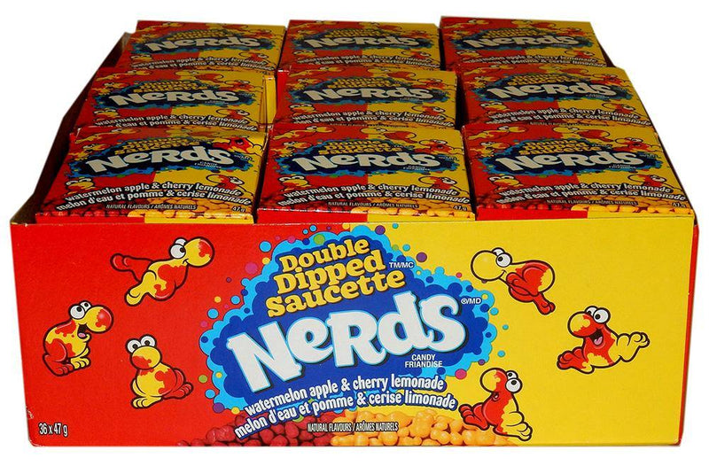 Nerds Double Dipped Watermelon Apple & Cherry Lemonade 36ct